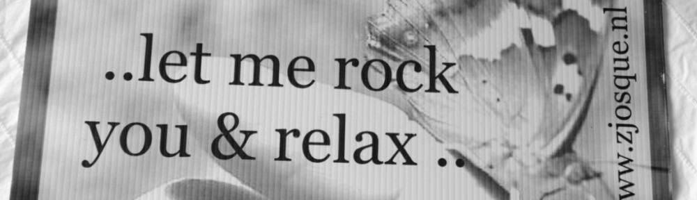 Let me rock you and relax